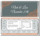 Fall in Love - Personalized Anniversary Candy Bar Wrappers