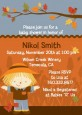 Scarecrow Fall Theme - Baby Shower Invitations thumbnail