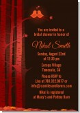 Fall Love Birds - Bridal | Wedding Invitations