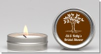 Fall Tree - Bridal Shower Candle Favors