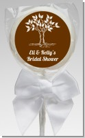 Fall Tree - Personalized Bridal Shower Lollipop Favors