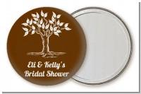 Fall Tree - Personalized Bridal Shower Pocket Mirror Favors