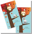 Owl - Fall Theme or Halloween - Baby Shower Scratch Off Game Tickets thumbnail
