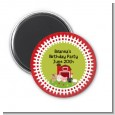 Farm Animals - Personalized Birthday Party Magnet Favors thumbnail