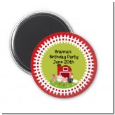 Farm Animals - Personalized Birthday Party Magnet Favors