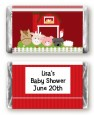 Farm Animals - Personalized Baby Shower Mini Candy Bar Wrappers thumbnail