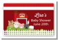 Farm Animals - Baby Shower Landscape Sticker/Labels thumbnail