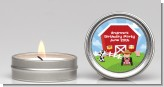 Farm Boy - Birthday Party Candle Favors