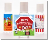 Farm Boy - Personalized Birthday Party Hand Sanitizers Favors