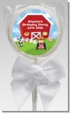 Farm Boy - Personalized Birthday Party Lollipop Favors