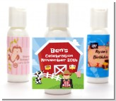 Farm Boy - Personalized Birthday Party Lotion Favors