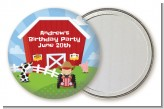 Farm Boy - Personalized Birthday Party Pocket Mirror Favors