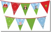 Farm Boy - Birthday Party Themed Pennant Set