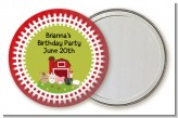 Farm Animals - Personalized Birthday Party Pocket Mirror Favors