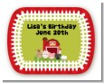 Farm Animals - Personalized Birthday Party Rounded Corner Stickers thumbnail