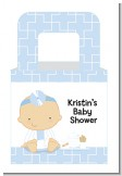 Little Doctor On The Way - Personalized Baby Shower Favor Boxes