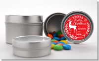 Festive Antlers - Custom Christmas Favor Tins