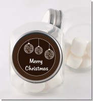 Festive Ornaments - Personalized Christmas Candy Jar