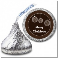 Festive Ornaments - Hershey Kiss Christmas Sticker Labels