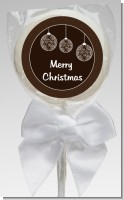 Festive Ornaments - Personalized Christmas Lollipop Favors