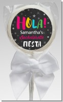 Fiesta - Personalized Bridal Shower Lollipop Favors