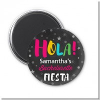 Fiesta - Personalized Bridal Shower Magnet Favors