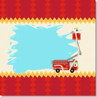 Fire Truck Baby Shower Theme