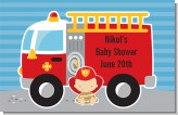 Future Firefighter - Personalized Baby Shower Placemats