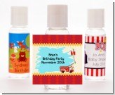 Fire Truck - Personalized Birthday Party Hand Sanitizers Favors