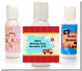 Fire Truck - Personalized Birthday Party Lotion Favors