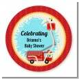 Fire Truck - Personalized Baby Shower Table Confetti thumbnail