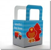 Future Firefighter - Personalized Baby Shower Favor Boxes