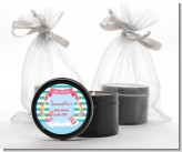 Flamingo - Baby Shower Black Candle Tin Favors