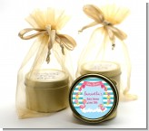 Flamingo - Baby Shower Gold Tin Candle Favors