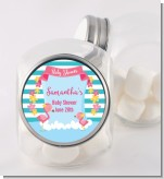 Flamingo - Personalized Baby Shower Candy Jar