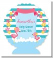 Flamingo - Personalized Baby Shower Centerpiece Stand thumbnail