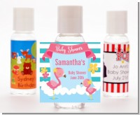 Flamingo - Personalized Baby Shower Hand Sanitizers Favors