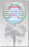 Flamingo - Personalized Baby Shower Lollipop Favors