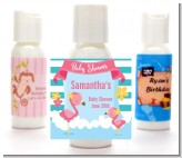 Flamingo - Personalized Baby Shower Lotion Favors