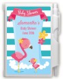 Flamingo - Baby Shower Personalized Notebook Favor thumbnail
