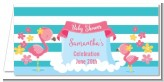 Flamingo - Personalized Baby Shower Place Cards
