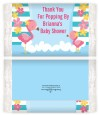 Flamingo - Personalized Popcorn Wrapper Baby Shower Favors thumbnail