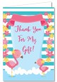 Flamingo - Baby Shower Thank You Cards thumbnail