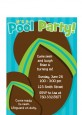 Flip Flops Boy Pool Party - Birthday Party Petite Invitations thumbnail