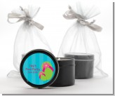 Flip Flops Girl Pool Party - Birthday Party Black Candle Tin Favors