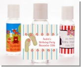 Flip Flops - Personalized Birthday Party Hand Sanitizers Favors
