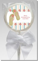 Flip Flops - Personalized Birthday Party Lollipop Favors