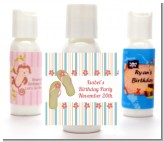 Flip Flops - Personalized Birthday Party Lotion Favors