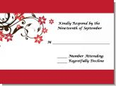 Floral Blossom - Bridal Shower Response Cards