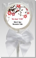 Floral Blossom - Personalized Bridal Shower Lollipop Favors